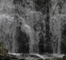 meigs waterfall 2 Sticker