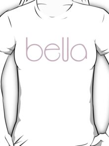 Bella pink T-Shirt