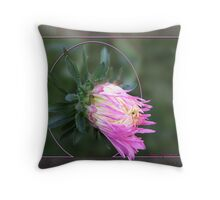 Aster Giants of California Throw Pillow