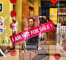 I AM NOT FOR SALE by andreisky
