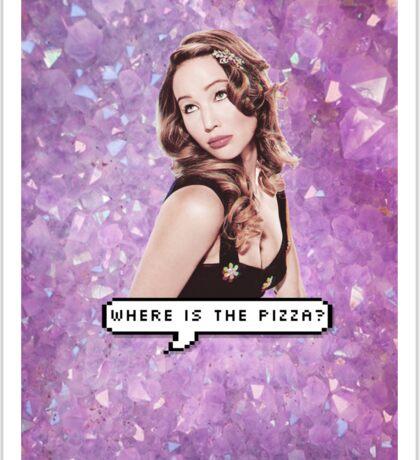Where's the Pizza Sticker