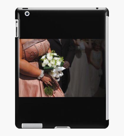 Bride & bouquet iPad Case/Skin