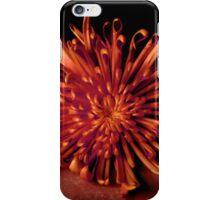 Orange Spider Mum iPhone Case/Skin