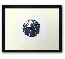 When The Full Moon Rises Framed Print