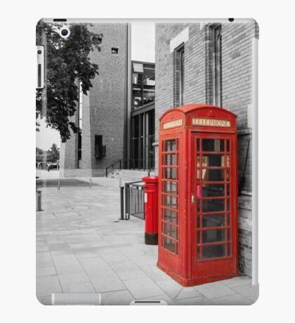 Red Telephone & Post Box iPad Case/Skin