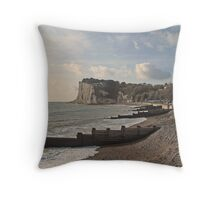 St Margaret's Bay - Kent Throw Pillow