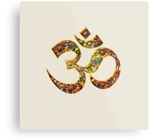 OM - Mantra - Buddhism - Symbol of spiritual strength  Metal Print