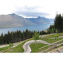 NZ - Queenstown Luge Photographic Print