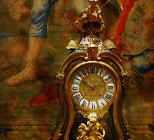 Vintage Clock by Barbara Manis