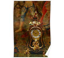 Vintage Clock Poster