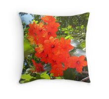 Brilliant Blossoms Throw Pillow