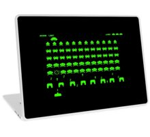 Space invaders Laptop Skin