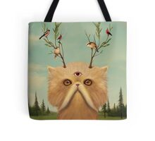 Cat Deity Tote Bag