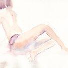 K Watercolour by harleym