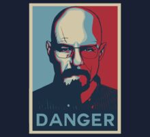 Walter White DANGER hope poster by eddytkirk