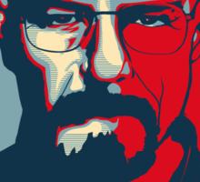 Walter White DANGER hope poster Sticker