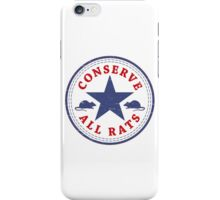 Conserve All Rats iPhone Case/Skin