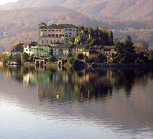 Orta Lake - San Giulio Island - Italy by sstarlightss