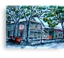 Pirate's House Savannah Georgia art painting Canvas Print