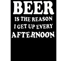 Funny Beer  Photographic Print