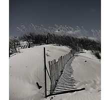 sand dune in black & white Photographic Print