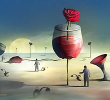 Cálices e Rosas by Marcel Caram