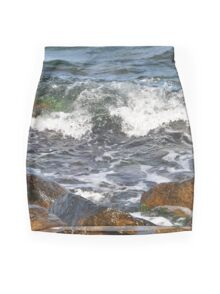 On the rocks Mini Skirt