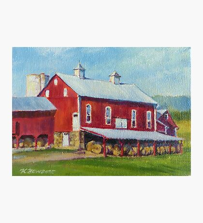 Baker Mill Historic Barn Photographic Print