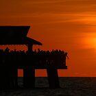 Orange Sky by ggpalms