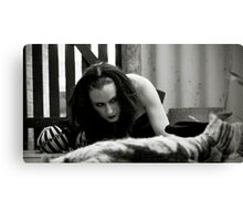 If Alice Was Evil #6 Canvas Print