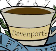 Davenport's Café Diem Sticker