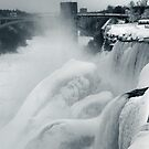 Frozen Niagara Falls by gothicolors