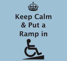 Keep Calm & Put a Ramp in Kids Clothes