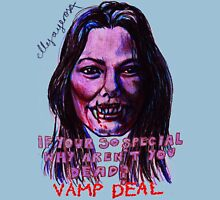 Vamp Deal Womens Fitted T-Shirt