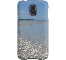 Shell, sand, sea and sky Samsung Galaxy Case/Skin