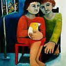 Two Friends and a Bird by Saren Dobkins