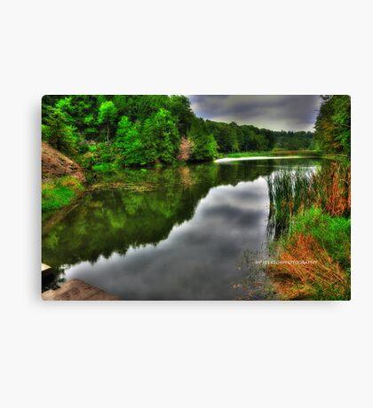 Lake Treman HDR Canvas Print
