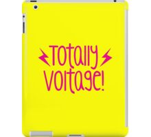 Totally Voltage! awesome exclamation shirt! iPad Case/Skin