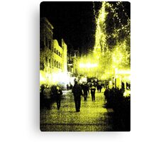 City Colors Canvas Print