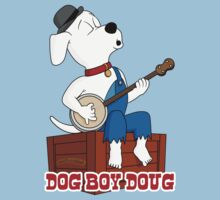 Dog Boy Doug Tee by FlamingDerps