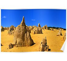 Pinnacles - Nambung National Park Poster
