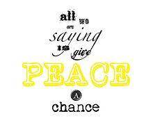 Peace by Sarah Wherry