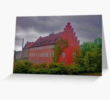 Crussaiders Castle Greeting Card
