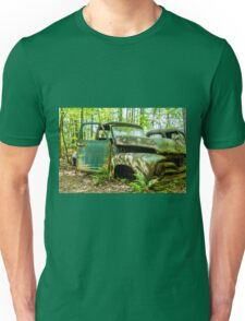 Old Green Truck Unisex T-Shirt