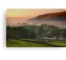Kettlewell Sunrise Canvas Print