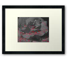 Love Bleeds Framed Print