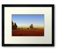 Rawdon everyday life Framed Print