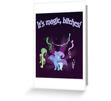 It's MAGIC! with text Greeting Card