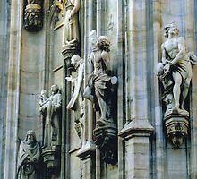 Duomo di Milano, Wall Sculptures. Lombardia, Italy. 2008 by Igor Pozdnyakov