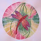 Mandala : Dragonfly Dreams by danita clark